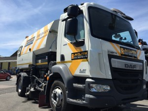 JM Clark Sweeper Hire Available across London and the Home Counties